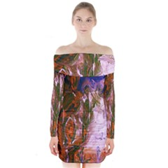 Close To Pinky,s House 12 Long Sleeve Off Shoulder Dress