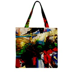 Catalina Island Not So Far 6 Zipper Grocery Tote Bag
