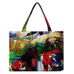 Catalina Island Not So Far 6 Zipper Medium Tote Bag