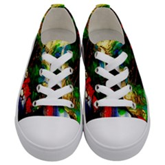 Catalina Island Not So Far 6 Kids  Low Top Canvas Sneakers