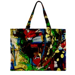 Catalina Island Not So Far 7 Zipper Mini Tote Bag