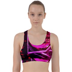 Calligraphy 2 Back Weave Sports Bra