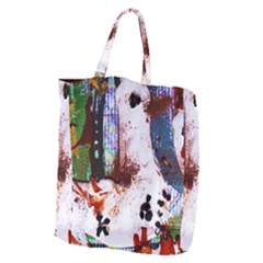Doves Match 1 Giant Grocery Zipper Tote