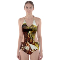 Doves Matchmaking 3 Cut Out One Piece Swimsuit