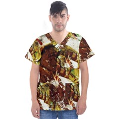 Doves Matchmaking 3 Men s V Neck Scrub Top