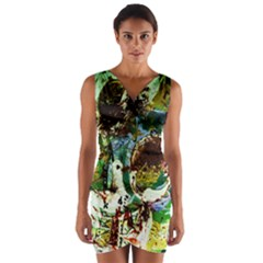 Doves Matchmaking 1 Wrap Front Bodycon Dress