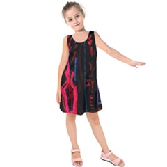 Calligraphy Kids  Sleeveless Dress