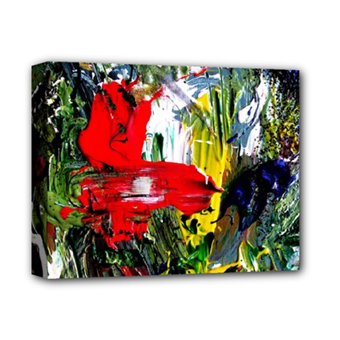 Bow Of Scorpio Before A Butterfly 2 Deluxe Canvas 14  X 11