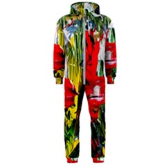 Bow Of Scorpio Before A Butterfly 2 Hooded Jumpsuit (men)