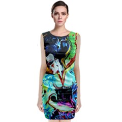 Woman Spirit Classic Sleeveless Midi Dress