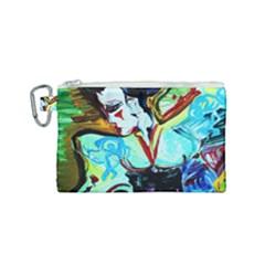 Woman Spirit Canvas Cosmetic Bag (small)