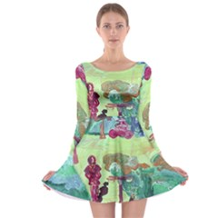 Trail 1 Long Sleeve Skater Dress