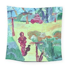 Trail 1 Square Tapestry (large)