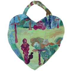 Trail 1 Giant Heart Shaped Tote