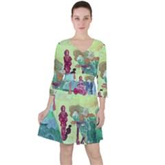 Trail 1 Ruffle Dress