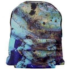 Blue Options 3 Giant Full Print Backpack