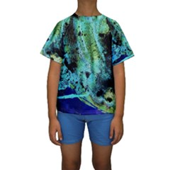Blue Options 6 Kids  Short Sleeve Swimwear