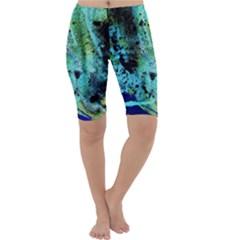 Blue Options 6 Cropped Leggings