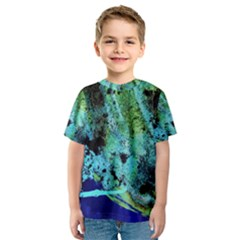 Blue Options 6 Kids  Sport Mesh Tee
