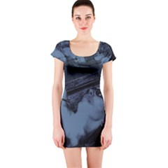 §¯§? §3§ü§?§t§?§?§ü§?   On A Bench Short Sleeve Bodycon Dress