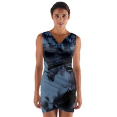 §¯§? §3§ü§?§t§?§?§ü§?   On A Bench Wrap Front Bodycon Dress