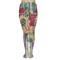 Sunflowers And Lamp Women s Tights