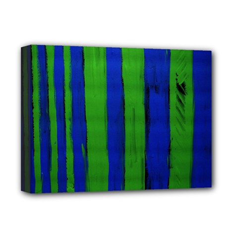 Stripes Deluxe Canvas 16  X 12