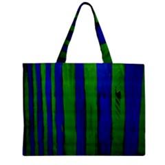 Stripes Zipper Mini Tote Bag by bestdesignintheworld