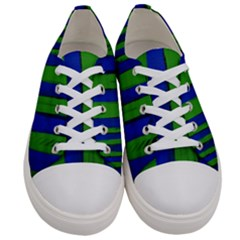 Stripes Women s Low Top Canvas Sneakers