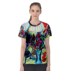 Still Life With Two Lamps Women s Sport Mesh Tee
