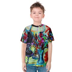 Still Life With Two Lamps Kids  Cotton Tee