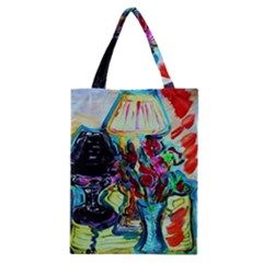 Still Life With Two Lamps Classic Tote Bag