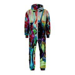 Still Life With Two Lamps Hooded Jumpsuit (kids)
