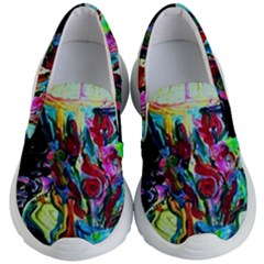 Still Life With Two Lamps Kid s Lightweight Slip Ons