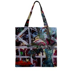 Still Life With Tangerines And Pine Brunch Zipper Grocery Tote Bag