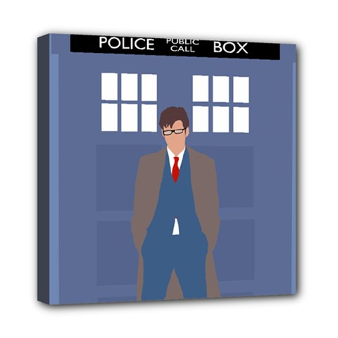 Tenth Doctor And His Tardis Multi Function Bag