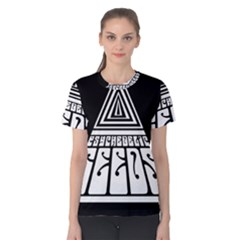 Psychedelic Seeds Logo Women s Cotton Tee