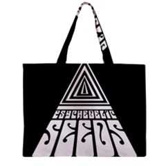 Psychedelic Seeds Logo Zipper Mini Tote Bag by Samandel