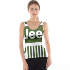 Only In A Jeep Logo Tank Top