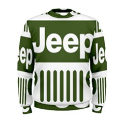 Only In A Jeep Logo Men s Sweatshirt