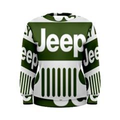 Only In A Jeep Logo Women s Sweatshirt