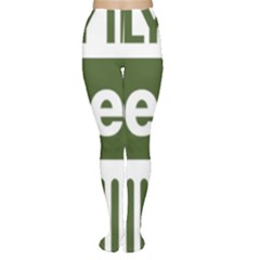 Only In A Jeep Logo Women s Tights