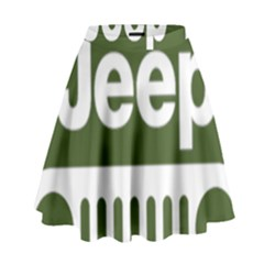 Only In A Jeep Logo High Waist Skirt