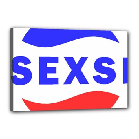 Sexsi Sexy Logo Canvas 18  X 12