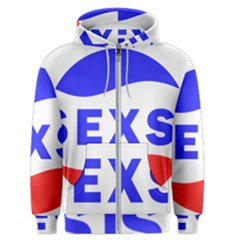 Sexsi Sexy Logo Men s Zipper Hoodie by Samandel