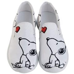 Snoopy Love Men s Lightweight Slip Ons