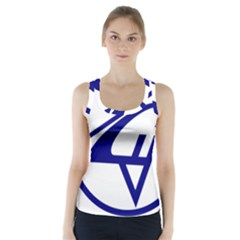 Sukhoi Aircraft Logo Racer Back Sports Top