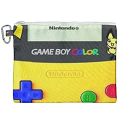 Game Boy Yellow Canvas Cosmetic Bag (xxl)