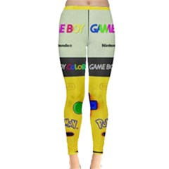 Game Boy Yellow Inside Out Leggings