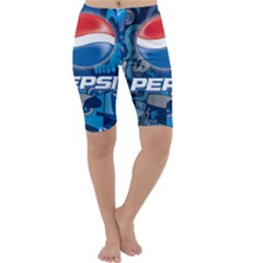 Pepsi Cans Cropped Leggings
